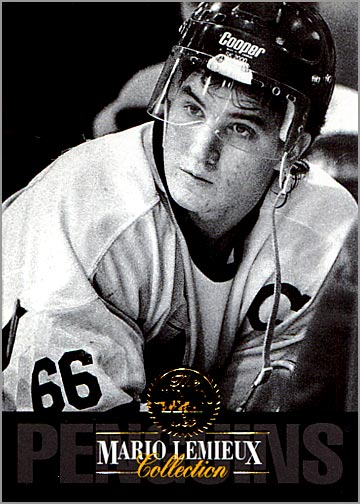 1993-94 Leaf Mario Lemieux Collection #2 - Mario Lemieux