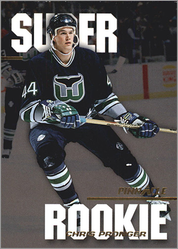 1993-94 Pinnacle Super Rookies #2 - Chris Pronger