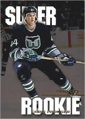 1993-94 Pinnacle Super Rookies #2 - Chris Pronger