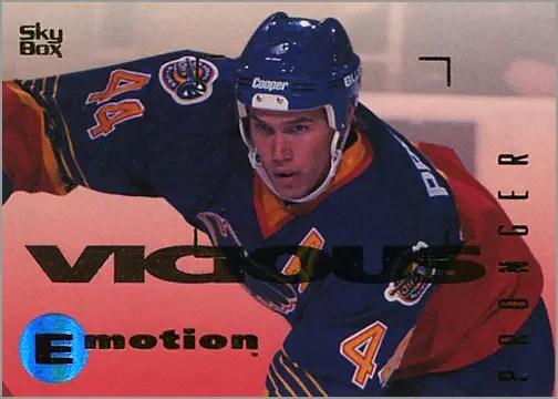 1995-96 SkyBox Emotion #151 - Chris Pronger