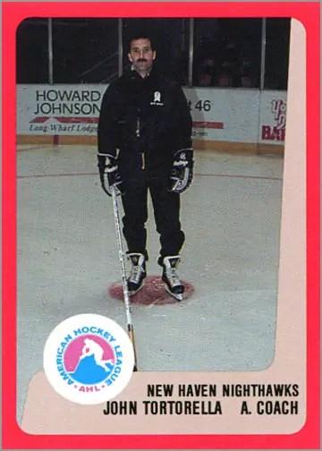 1988-89 ProCards - John Tortorella