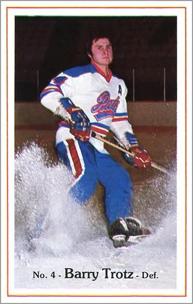 1981-82 Regina Pats #21 - Barry Trotz