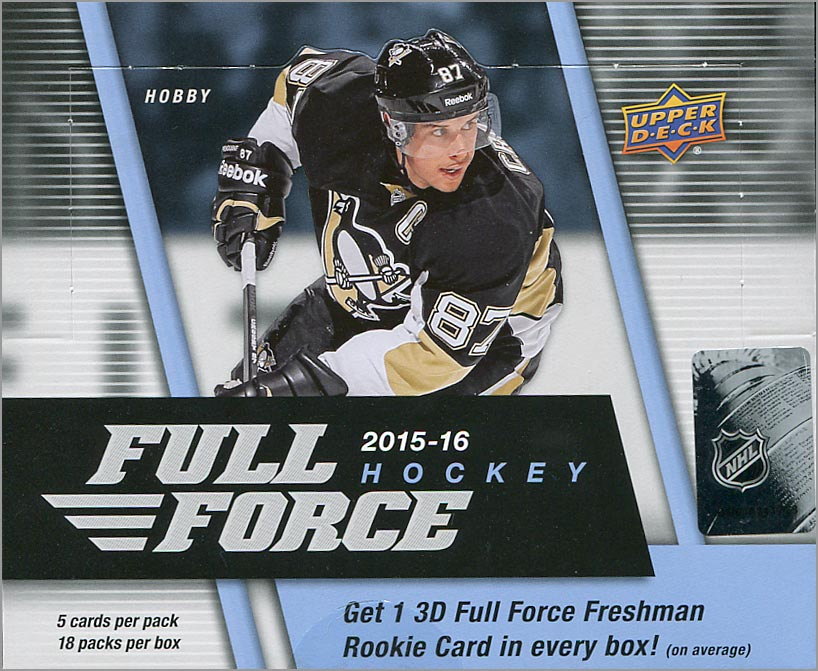 2015-16 Full Force Hockey Hobby Box