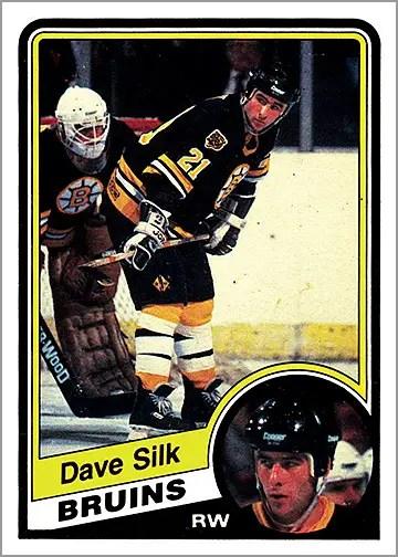 1984-85 O-Pee-Chee #16 - Dave Silk