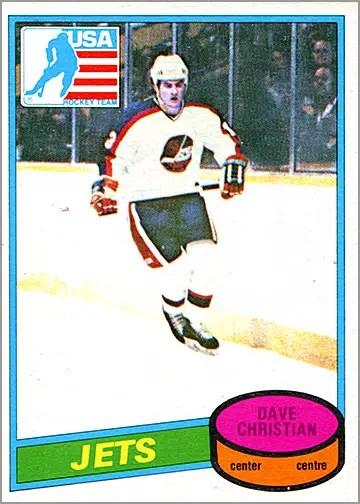 1980-81 O-Pee-Chee #1176 - Dave Christian