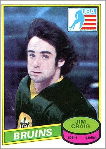 1980-81 O-Pee-Chee #22 - Jim Craig