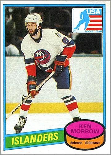 1980-81 O-Pee-Chee #9 - Ken Morrow