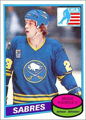 1980-81 O-Pee-Chee #127 - Mike Ramsey