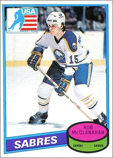 1980-81 O-Pee-Chee #232 - Rob McClannahan