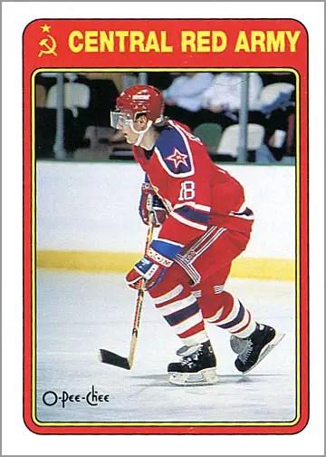 1990-91 O-Pee-Chee #19R - Sergei Fedorov