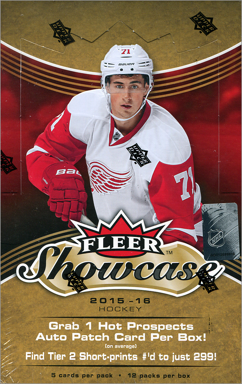 Box Break: 2015-16 Fleer Showcase Hockey