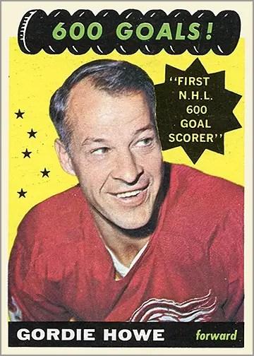 1965-66 Topps #122 - 600 Goals
