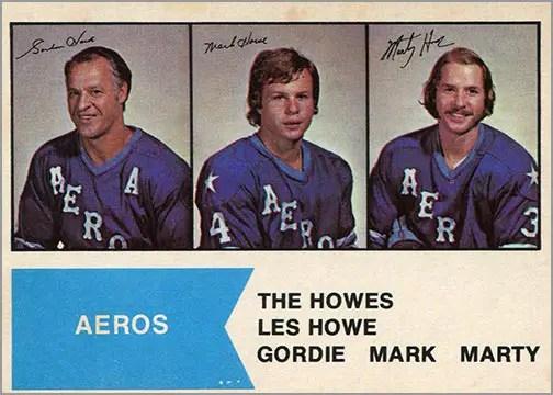 1974-75 O-Pee-Chee WHA #1 - The Howes