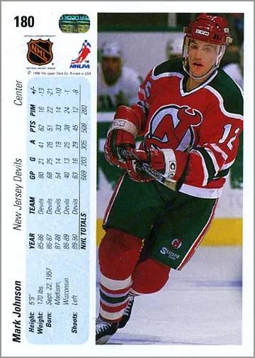 1990-91_Upper_Deck_180_Mark_Johnson_back