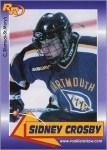 Sidney Crosby's First Hockey Card