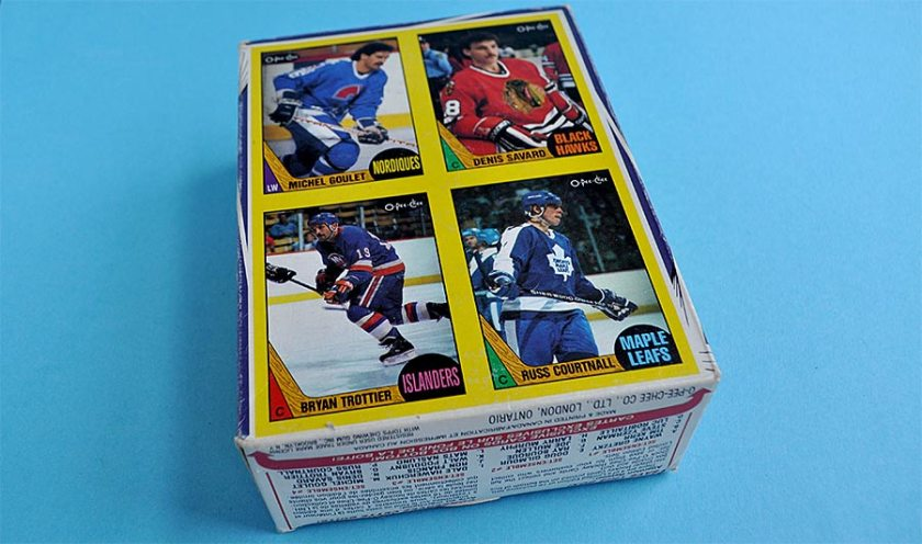 Review: 1987-88 O-Pee-Chee Hockey Box Bottoms