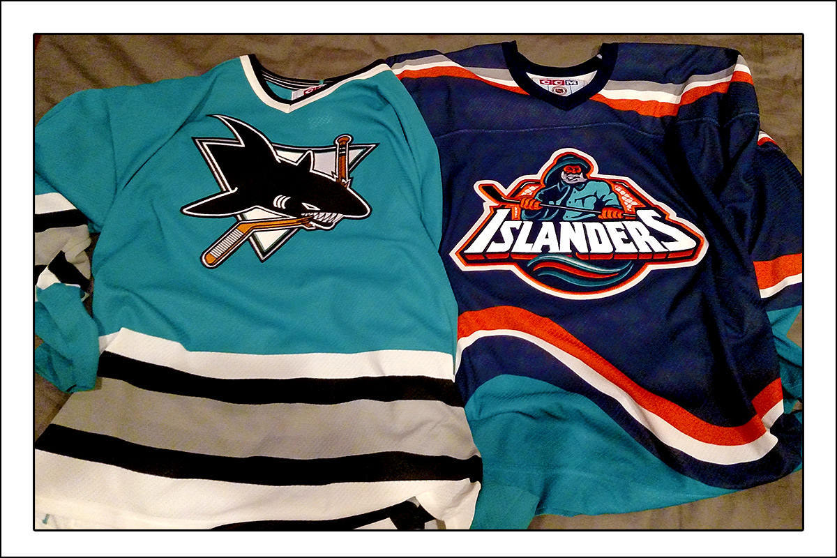 the latest 0460c 65f1c My Quest for a Fish Sticks Jersey - Puck Junk