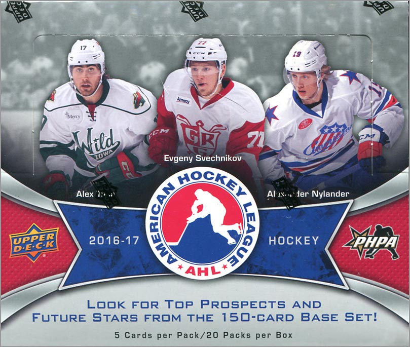 Box Break: 2016-17 Upper Deck AHL