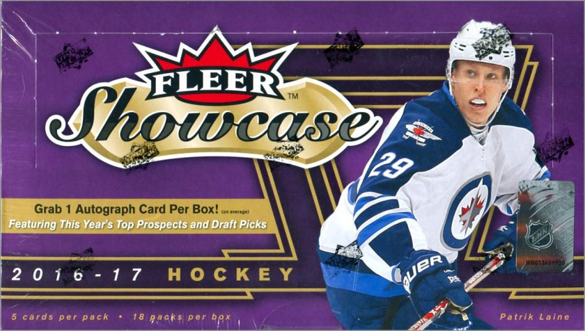 Box Break: 2016-17 Fleer Showcase