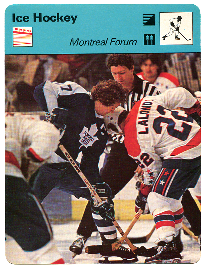 That Time the Capitals Played the Maple Leafs...at Montreal Forum