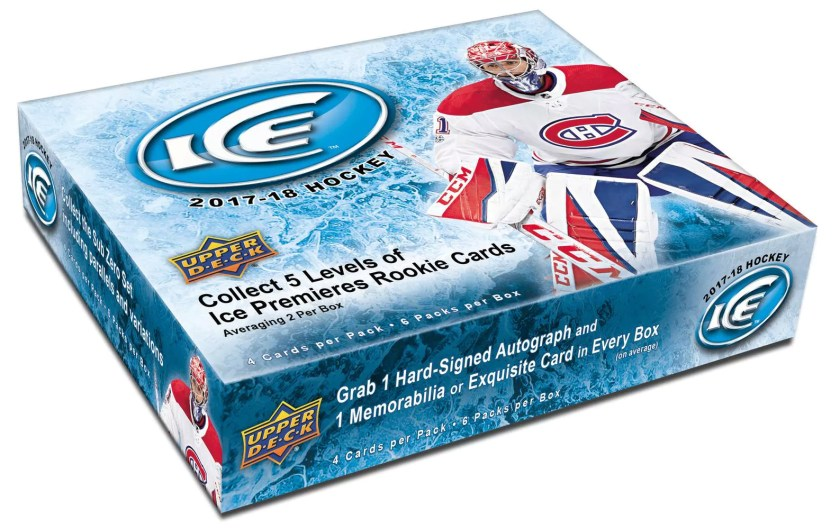 Box Break: 2017-18 Upper Deck Ice