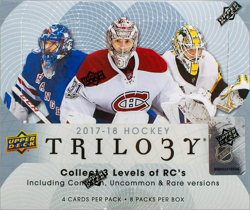 Box Break: 2017-18 Upper Deck Trilogy