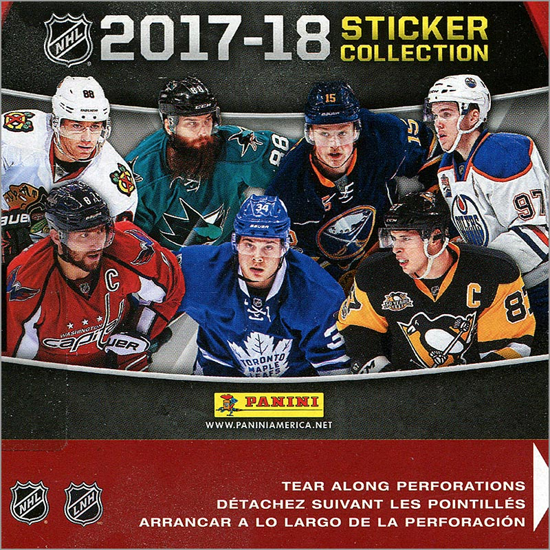 Box Break: 2017-18 Panini NHL Stickers