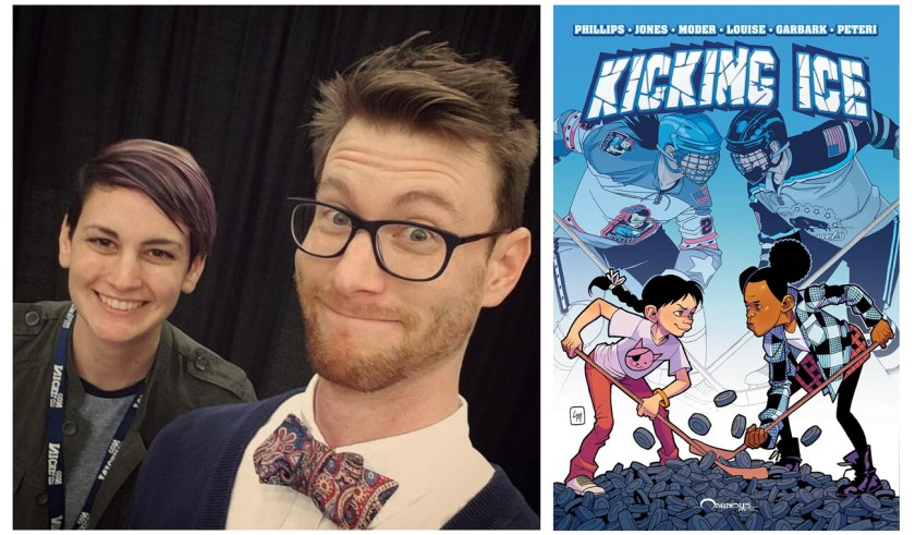 "Interview: ""Kicking Ice"" Creators Stephanie Phillips & Jamie Jones"