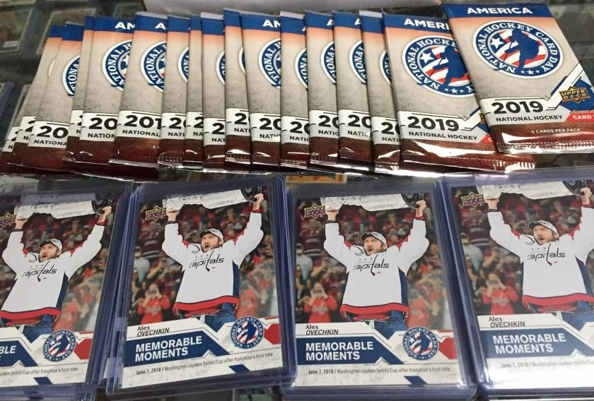 National Hockey Card Day Has Become a Family Tradition for Many