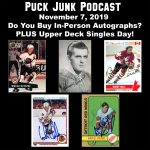 Puck Junk Podcast: November 7, 2019