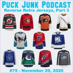 Puck Junk Podcast #75: Nov. 20, 2020