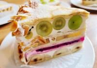 宜蘭壯圍甜點店│食聚咖啡GATHER Cafe》濱海公路上的HARBS水果千層蛋糕