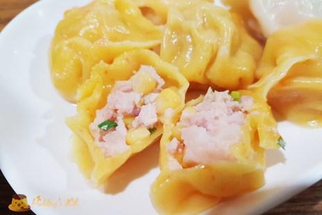 【新竹美食】東區-巨城附近餃子館餐廳《中大水餃鍋貼館》多種口味的彩色水餃