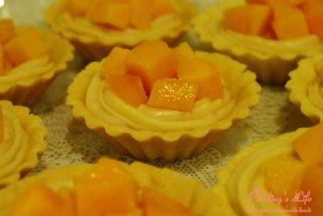 【食譜 做法】夏日芒果甜點料理二部曲《芒果派》塔皮/卡士達醬