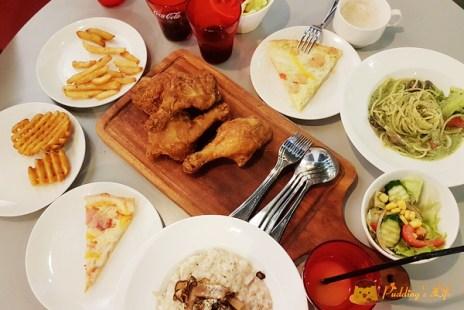 【台中餐廳】沙鹿-學生最愛聚餐首選《義米蘭》手作披薩+炸物+冰淇淋吃到飽