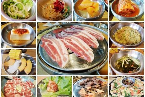 【新竹美食】竹北-韓國藝人在台直營韓式燒烤餐廳《姜虎東678白丁烤肉》豐盛小菜吃到飽