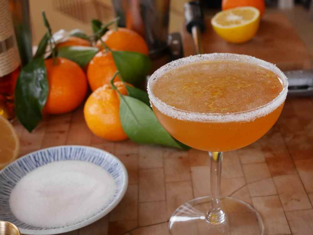 The Sequin, developed by mixologist Willa Van Nostrand, is an Armagnac-based sidecar that's perfect for New Year's Eve.