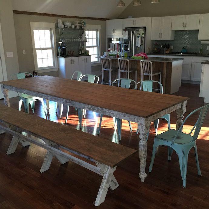 Ruff Wood Design Companys Farmhouse Chic Tables
