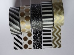 Photo - Black and Gold Tape