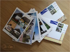 July's outgoing mail