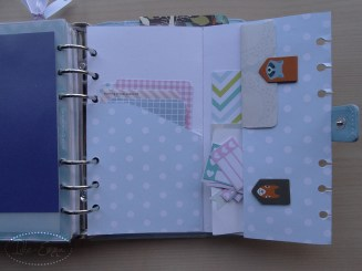 Photo - Geo, Geometric Personal Filofox Planner Setup (18) - Fold Out Folder