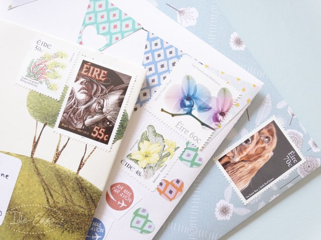 Photo - May 2016 - Outgoing - Irish Stamps