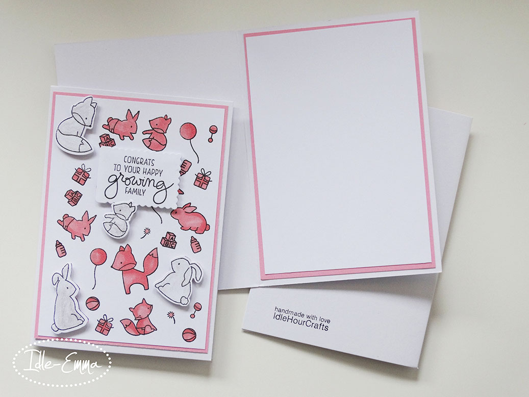 Card Making: New Baby Cards
