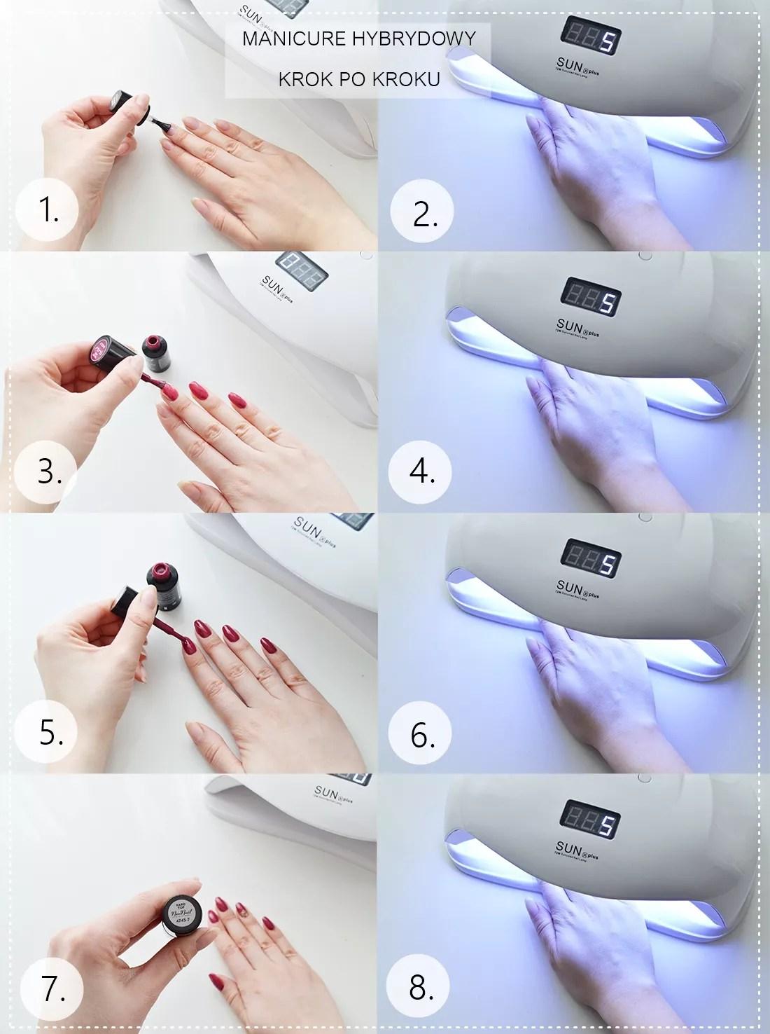 Jak Wykonac Manicure Hybrydowy Instrukcja Krok Po Kroku