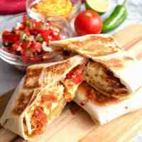Tasty Breakfast Quesadilla Wraps