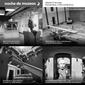 Noche de Museos en Puebla