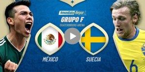 México vs Suecia en vivo, Rusia 2018, cómo y dónde ver