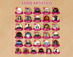 Cartel Foro Artístico: Feria de Puebla 2019