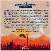 Revelan cartel oficial del Corona Capital 2019
