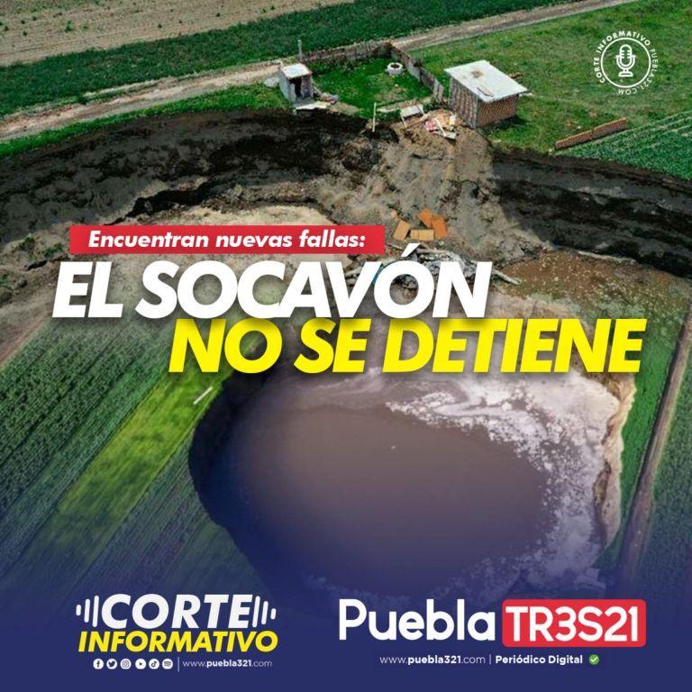 Puebla 321 – El socavón no se detiene